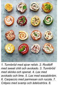 Snittar Healthy Salad Recipes, Snack Recipes, Swedish Recipes, Tapas, Food Design, Food Inspiration, Love Food, Food Porn, Brunch