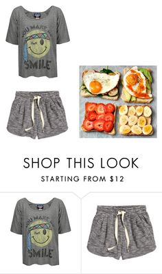 """Untitled #772"" by haylee-dean ❤ liked on Polyvore featuring KEEP ME, Junk Food Clothing and H&M"