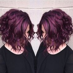 """""""CONGRATULATIONS to @beautybymalm for winning the #modernsalonPURPLE HAZEcolor contest! We love this shade, dimension and texture so much! Thanks to…"""""""