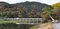 Arashiyama (嵐山) is a pleasant, touristy district in the western outskirts of Kyoto.