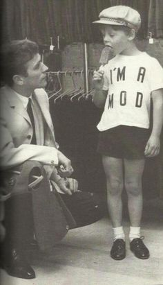 I´m a mod t shirt. And Michael Caine.