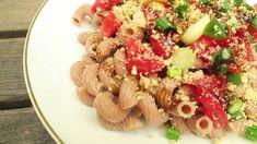 Vegan Recipes, Vegan Food, Kimchi, Pasta Salad, Ethnic Recipes, Youtube, Crab Pasta Salad, Veggie Food, Vegane Rezepte