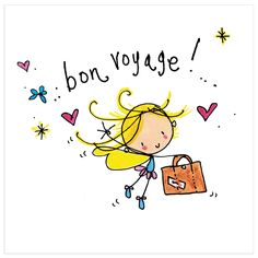 Luxury card printed on shiny board. 13 x square card. Bon Voyage Quotes, Bon Voyage Cards, Bon Voyage Message, Belated Birthday Wishes, Happy Birthday, Birthday Images, Birthday Quotes, Luxury Card, Square Card