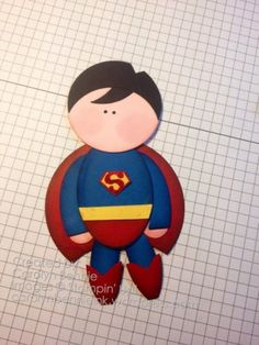 Superman Punch Art – A Super Hero 4th Birthday
