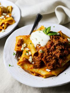 Pappardelle with Za'atar Lamb 'Bolognese' and Yogurt Ricotta ...
