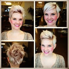 Check out Stages Salon SF... Multiple ways to wear a pixie!