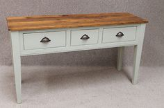 RECLAIMED-PINE-SIDEBOARD-KITCHEN-UNIT-FARROW-BALL-PAINTED-BASE-BUCKLAND