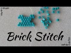 Avete difficoltà con il brick stitch? In questo tutorial trovate spiegato ogni possibile caso che si possa presentare nell'esecuzione di uno schema a brick s... Beaded Earrings Patterns, Bead Loom Patterns, Beading Patterns, Bead Earrings, Earring Tutorial, Brick Stitch Tutorial, Seed Bead Crafts, Brick Stitch Earrings, Bead Jewelry