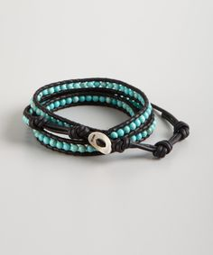 Love me a little turquoise!