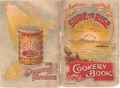 Two covers Vintage cookbooks | Edmonds Cook book cover 2nd Edition 1910 - Kete Christchurch