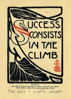 Roycroft Motto::1909 Elbert Hubbard-ism via the Daily Bungalow