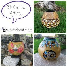 BJs Gourd Art Etc HA Shop Shout Out