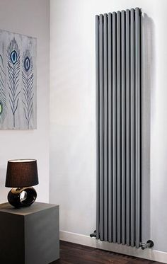 The Radiator Company Volcano Single Vertical Radiator in White Cast Iron Radiators - Period Radiators, Traditional Radiators, Designer Radiators, Contemporary Radiators, Modern Radiators UK