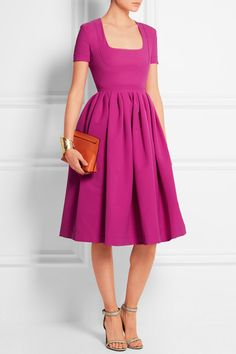 Preen by Thornton Bregazzi | Stretch-crepe dress | NET-A-PORTER.COM