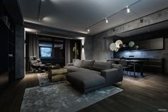A Modern Home Interior in Kiev, Ukraine