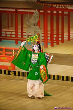 Miyako Odori 2012: Kiyumori visits the Itsukushima Shrine. Photographer John Paul Foster