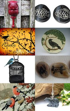 Some Fun With Wildlife  by Laura Griffing on Etsy--Pinned with TreasuryPin.com #etsy #wildlife #handmade