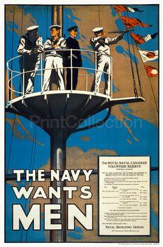 The Navy Wants Men
