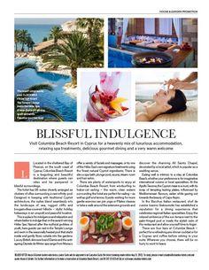 House & Garden - Press | Luxury Hotels Cyprus | Beach Hotels Limassol