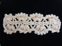 Punto Cintillo (o cinturón) en Crochet