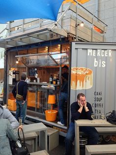 Container Office, Container Shop, Container House Design, Container Buildings, Container Architecture, Cafe Restaurant, Restaurant Design, Modern Restaurant, Container Conversions