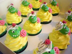 Dorothy dinosaur cupcakes