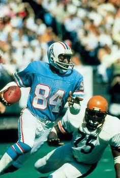 63962f0c6 Billy  White Shoes  Johnson Houston Oilers Loved his End Zone Celebration.