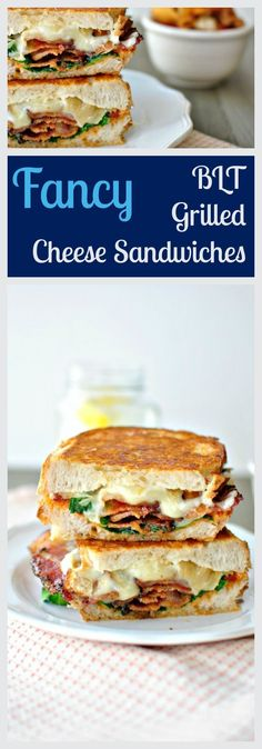 A fancy twist on a BLT. Griddled until golden and gooey with Fontina cheese. From /simply_scratch/