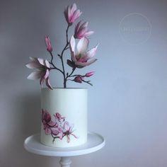 Magnolia Cake  by CAKELOSOPHY