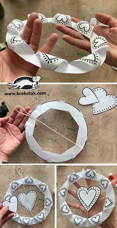 Valentine Activities, Valentine Day Crafts, New Year's Crafts, Arts And Crafts, Diy For Kids, Crafts For Kids, School Art Projects, Art Lessons Elementary, Plate Crafts