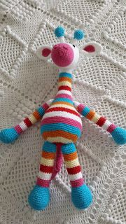 Phatufa: Girafa Amigurumi - Stip&Haak