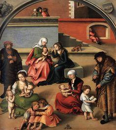 Cranach l'Ancien - Renaissance - La Sainte Parenté (1510-1512)