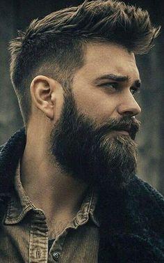- - - Source by shchitkov Long Beard Styles, Hair And Beard Styles, Short Hair Styles, Mens Hairstyles With Beard, Haircuts For Men, Gents Hair Style, Men Hair Color, Long Beards, Beard Lover