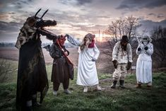 Kolędnicy in present-day Poland. Images ©... - lamus dworski Ash Wednesday, Group Of Friends, Winter Solstice, Present Day, Christmas Carol, Carnival, Folk, The Past, Presents