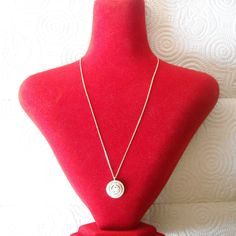 925 Sterling Silver Zirconia Necklace