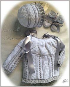 Canastilla artesanal catalogo de modelos - Canastilla artesanal bebe ...