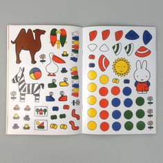 Miffy sticker book