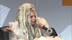 Lady Gaga speaks at the 2014 SXSW Keynote. http://www.70305online.com/2014/03/18/lady-gaga-speaks-at-2014-sxsw-keynote-full-interview/