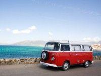 VW Camper an der Costa de la Luz - Happy Hippie #andalusien #eurpareise #reisesalz