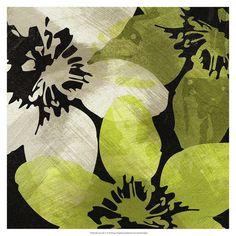 Bloomer Tile V Print