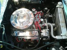 BluePrint Engines customer, David Reed has installed our BP3472CT under the hood of his 1961 Ford Falcon. Thank you for sharing your photo's with us David! #blueprintengines #engineinstall #347stroker #baseengine #castironheads #flattappetcam #330hp #caststeelcrank #chromesteelvalvecovers #paintedoilpan #dynotested #ford #falcon #warranty #provenresults #callustoday