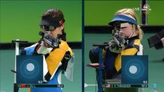 USA's Ginny Thrasher wins first gold medal of Olympics | NBC Olympics