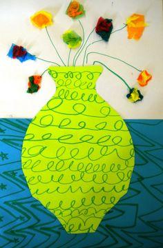 For the Love of Art: 2nd Grade: Matisse Flower Vases