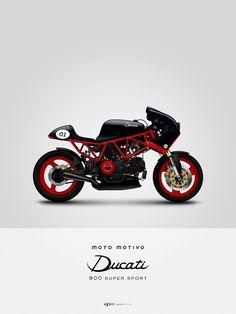 Vintage Sport Ducati