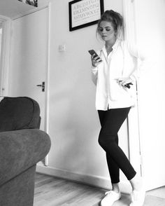One item styled 4 ways - plain white trainers Trainers, Two By Two, Pairs, Pretty, Style, Fashion, Tennis, Swag, Moda