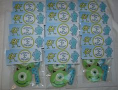 I wish I could do this monsters inc birthday party @Melissa Squires Middagh work some magic :)