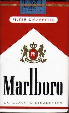 always been smoking Marlboro, since 1989...