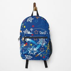 Shooting Stars, Star Patterns, Vera Bradley Backpack, Fashion Backpack, Clutches, Traveling By Yourself, Print Design, Backpacks, Printed