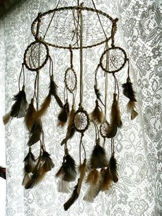 Dream Catcher Mobile. $89.00, via Etsy.