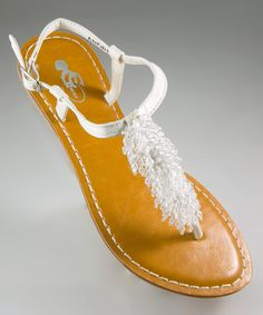 Take a look at this Ice Andrea Sandal by GC Shoes on #zulily today!